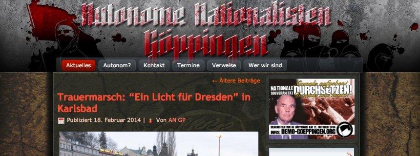 Screenshot/ Autonome Nationalisten Göppingen