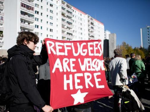 flüchtlinge welcome
