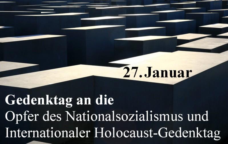 Holocaust Gedenktag 201 Prof Dr Hajo Funke
